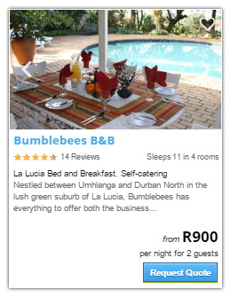 La lucia Accommodation2
